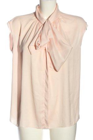 Mango Suit ärmellose Bluse pink Business-Look