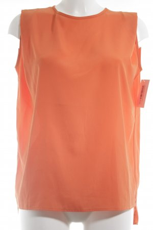 Mango Suit ärmellose Bluse orange Business-Look