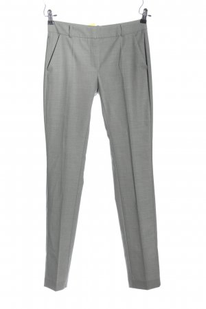 Mango Suit Anzughose hellgrau meliert Business-Look