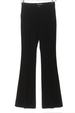 Mango Suit Pantalone da abito nero stile professionale