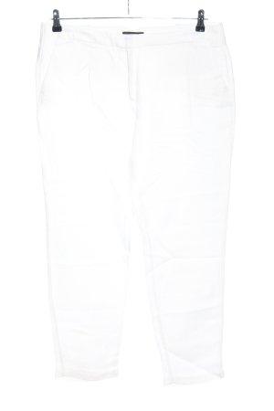 Mango Suit Anzughose weiß Casual-Look