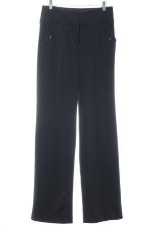 Mango Suit Anzughose dunkelblau Business-Look