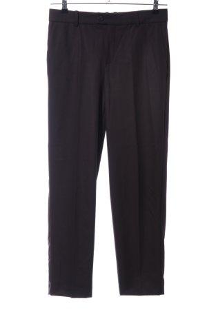 Mango Suit Anzughose schwarz Business-Look