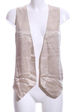 Mango Suit Anzugweste creme Elegant