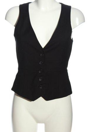 Mango Suit Gilet de costume noir style décontracté