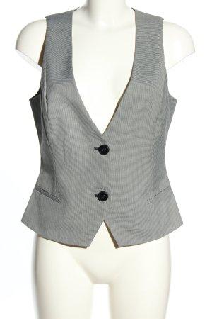 Mango Suit Anzugweste hellgrau Karomuster Business-Look