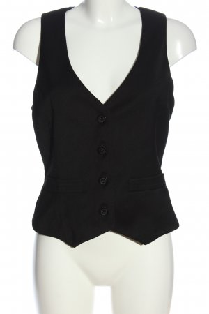 Mango Suit Anzugweste schwarz Business-Look