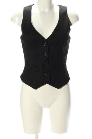 Mango Suit Gilet de costume noir style d'affaires