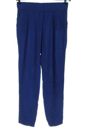 Mango Suit Baggy Pants blau Casual-Look