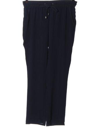 Mango Suit Luźne spodnie czarny W stylu casual