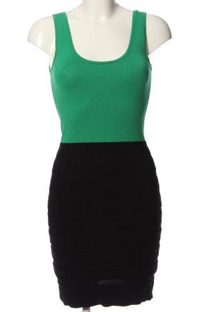 Mango Suit Bandeau Dress khaki-black casual look