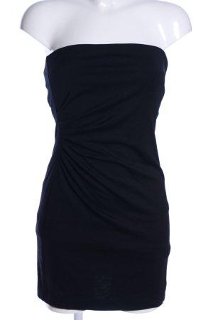 Mango Suit Bandeau Dress black elegant