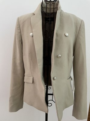 Mango Suit Blazer beige Creme Longblazer L