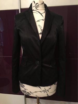 Mango Suit Blazer schwarz