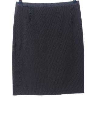 Mango Suit Bleistiftrock blau-weiß Allover-Druck Casual-Look