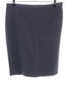 Mango Suit Bleistiftrock schwarz-weiß Streifenmuster Business-Look