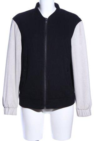 Mango Suit Blouson schwarz-weiß Casual-Look