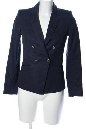 Mango Suit Blouson blau Business-Look