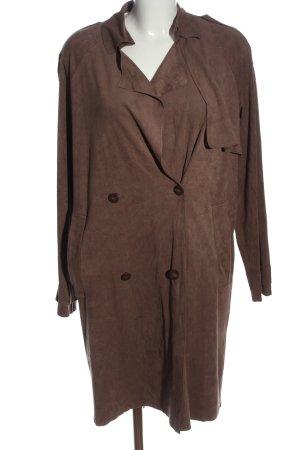 Mango Suit Übergangsmantel braun Casual-Look