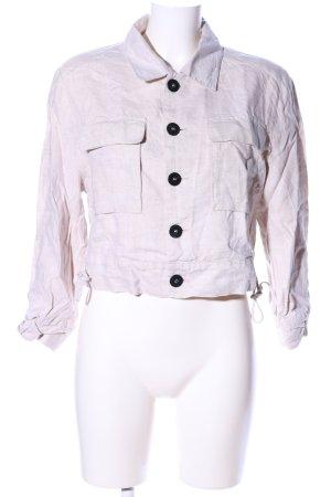 Mango Suit Blusenjacke wollweiß Casual-Look