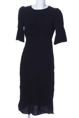 Mango Suit Blusenkleid schwarz Casual-Look
