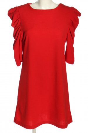 Mango Suit Blusenkleid rot Business-Look