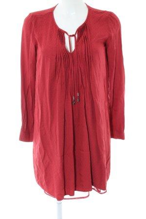 Mango Suit Blusenkleid rot Casual-Look