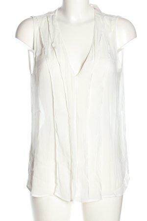 Mango Suit Blusentop wollweiß Casual-Look