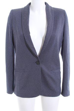Mango Suit Boyfriend-Blazer blau Streifenmuster Business-Look