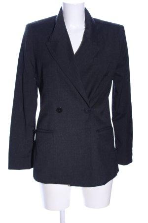 Mango Suit Boyfriend-Blazer schwarz Business-Look