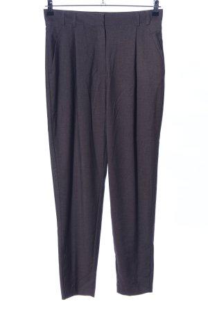 Mango Suit Bundfaltenhose hellgrau Allover-Druck Business-Look