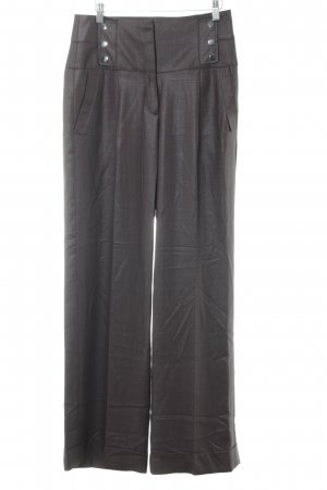 Mango Suit Bundfaltenhose anthrazit Business-Look