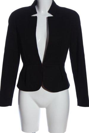 Mango Suit Pilotenjack zwart zakelijke stijl