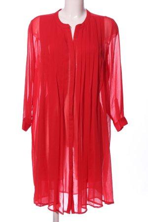 Mango Suit Camicetta lunga rosso elegante