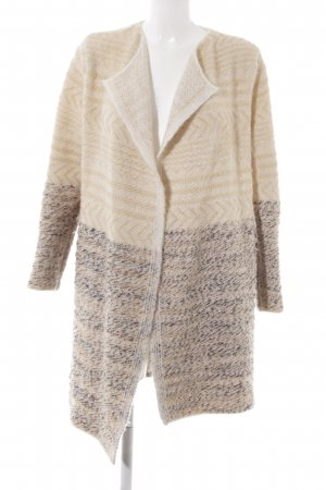 Mango Suit Cardigan abstraktes Muster Casual-Look