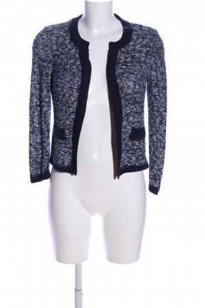 Mango Suit Cardigan schwarz-weiß meliert Casual-Look