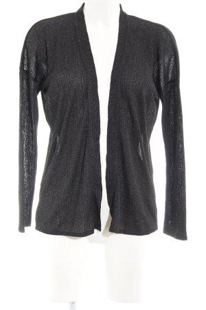 Mango Suit Cardigan schwarz-silberfarben Elegant