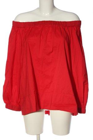 Mango Suit Carmen-Bluse rot Casual-Look