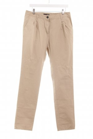 Mango Suit Chinohose creme Casual-Look