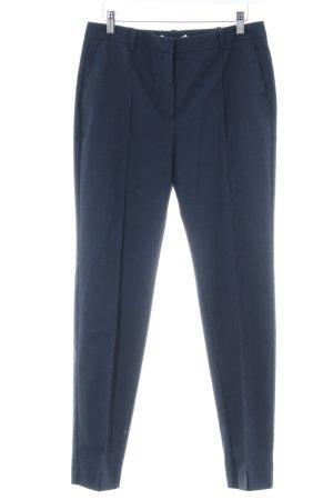Mango Suit Chinohose dunkelblau Business-Look