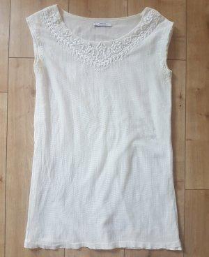 Mango Suit Collection Kleid A-Linien Form Leinen Sommer Luftig Leicht S 36
