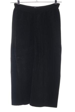 Mango Suit Culottes schwarz klassischer Stil