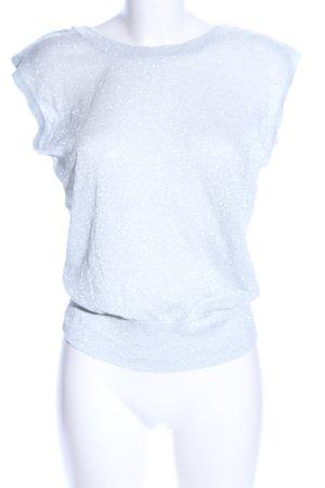 Mango Suit Feinstrickpullunder türkis Casual-Look
