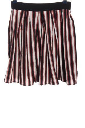 Mango Suit Glockenrock Streifenmuster Casual-Look