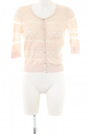 Mango Suit Cardigan all'uncinetto crema stile professionale