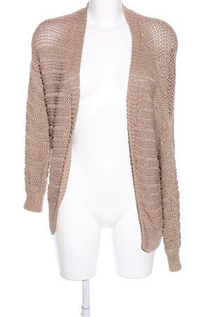 Mango Suit Szydełkowany sweter brązowy W stylu casual