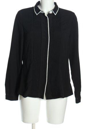 Mango Suit Hemd-Bluse schwarz Casual-Look