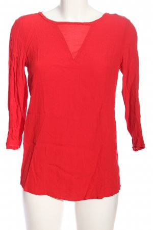 Mango Suit Hemd-Bluse rot Casual-Look