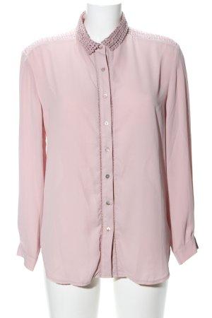 Mango Suit Hemd-Bluse pink Business-Look