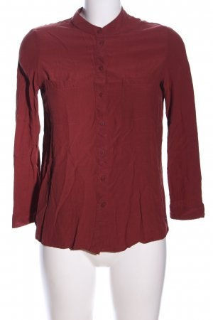 Mango Suit Hemd-Bluse rot Business-Look